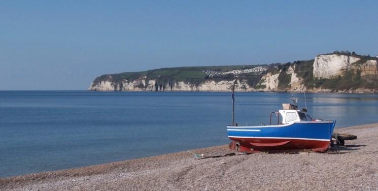 vacances à Devon par la mer