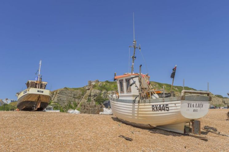 Locations de vacances à Hastings, Sussex-Sud de l'Angleterre.