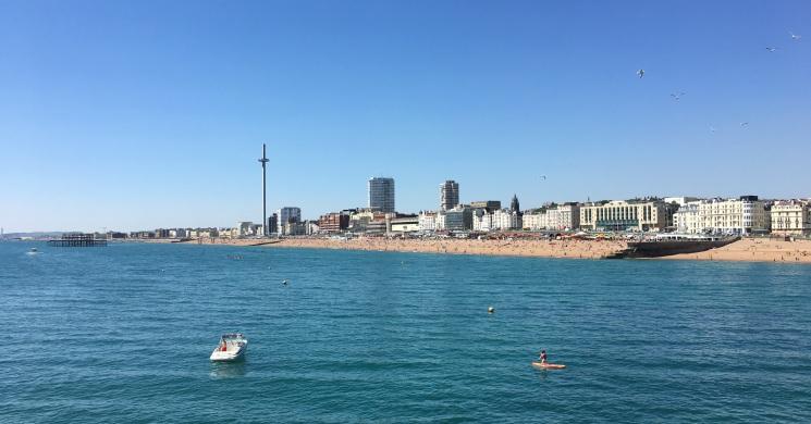 Brighton a la mer