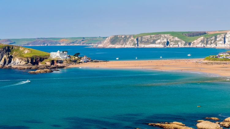 Hôtels en bord de mer dans le Devon - Sud-Ouest de l'Angleterre.